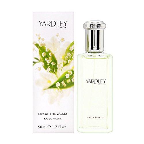 Yardley London, Lily of the Valley, Eau de Toilette da donna, 50 ml