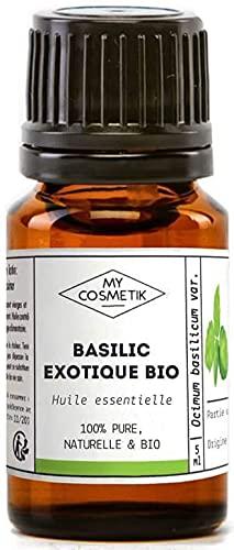 Olio Essenziale di Basilico Esotico Organico - MyCosmetik - 10 ml