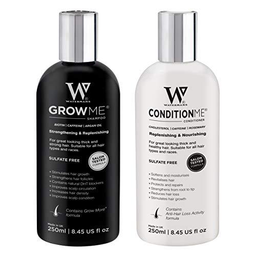 Watermans Shampoo e balsamo per la crescita dei capelli,Miglior sistema per la crescita dei capelli