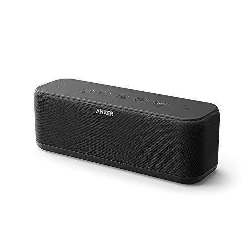 Speaker Portatile Bluetooth Anker SoundCore Boost 20W con Tecnologia BassUp, 12 Ore di Autonomia, Resistente all'Acqua IPX5, Raggio Bluetooth 20 metri con Suono e Bassi Superiori