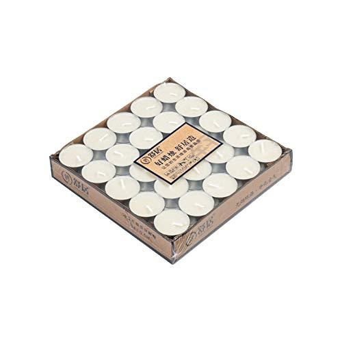 Candele Tealight Profumate Regalo, 5 Ore di Durata, Cera di Soia, per Yoga, Meditazione, Relax, Grande per Regalo di Natale, Regalo di Compleanno 50/100 Pack (100PC)