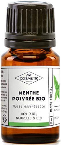 Huile essentielle de Menthe Poivrée BIO - MyCosmetik - 10 ml