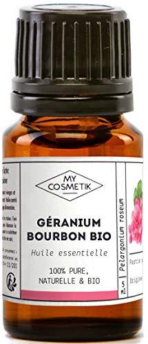 Olio essenziale di geranio bourbone Organico - MyCosmetik - 5 ml