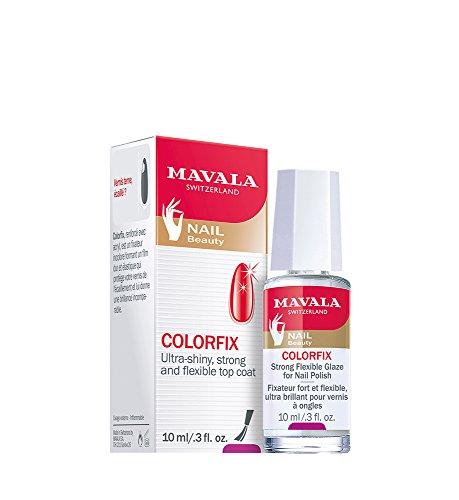 Mavala Colorfix Fissatore per Smalto, Decorazione Unghie Manicure e Pedicure - 10 ml