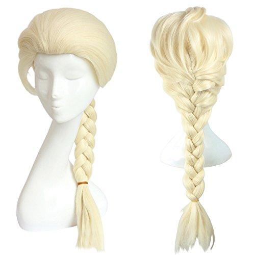 CoolChange Parrucca della Principessa Elsa di Frozen
