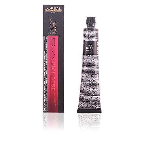 L'Oréal Dia Richesse Colore Professionale per Capelli, 5.35 Castano Dorato Marrone Castagna, 50 ml