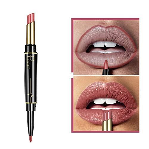 AchidistviQ, matita per labbra a lunga durata, impermeabile, opaca, idratante 5#