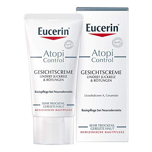 Eucerin, AtopiControl, crema viso, 50ml