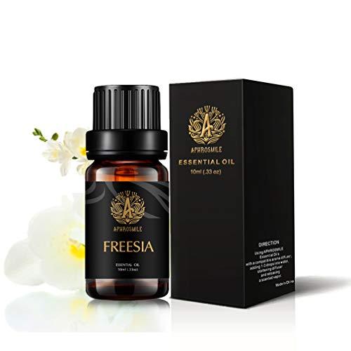 Fresia olio essenziale per diffusore, terapeutico Grade Fresia profumato olio, 100% Pure Aromaterapia Olio essenziale Freesia profumo per umidificatore, massaggi 0.33oz-10ml