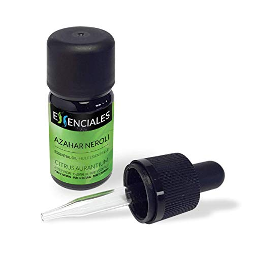 Essenciales – Olio Essenziale di Fiore d'Arancio/Neroli, 100% Puro e Naturale, 5 ml | Olio Essenziale di Citrus Aurantium