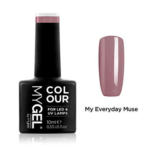 Smalto MyGel, da MYLEE (10ml) MG0042 - My Everyday Muse UV / LED Nail Art Manicure Pedicure per uso professionale in soggiorno ea casa - Lunga durata e facile applicazione