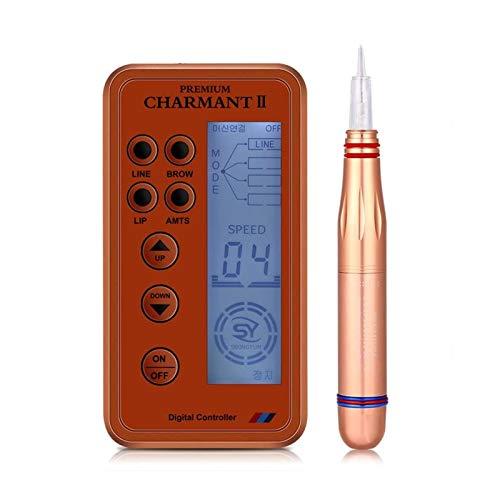 Schermo LCD digitale tatuaggio permanente macchina per il trucco del sopracciglio del tatuaggio lip eye liner brow amts dispositivo penna microblading con 6 pz strumento accessorio testa(EU)