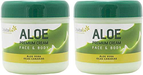 Tabaiba - 2 creme premium all'aloe Premium per viso e corpo