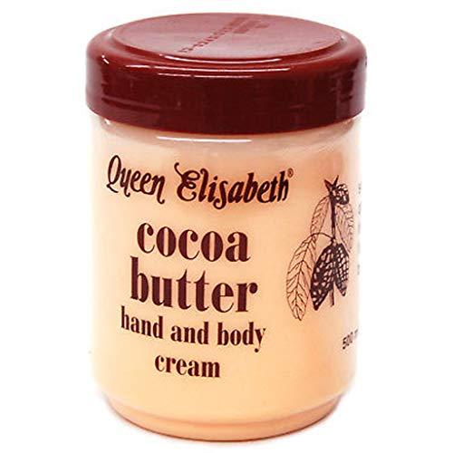 Queen Elisabeth, crema mani e corpo a base di burro di cacao, 500ml