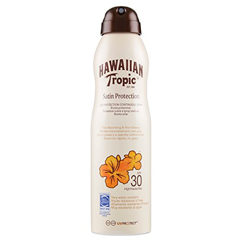 Hawaiian Tropic SATIN PROTECTION CAN SPRAY SPF 30, Spray continuo - 220 ml