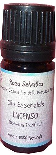 Olio essenziale puro di Incenso - astringente, cicatrizzante, antirughe