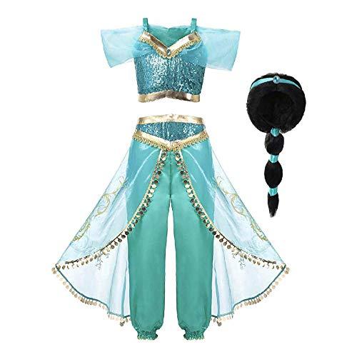 Mooler Ragazza di Halloween la Principessa Cosplay Vestito di Teatro Danza Costume Due Pezzi del Set