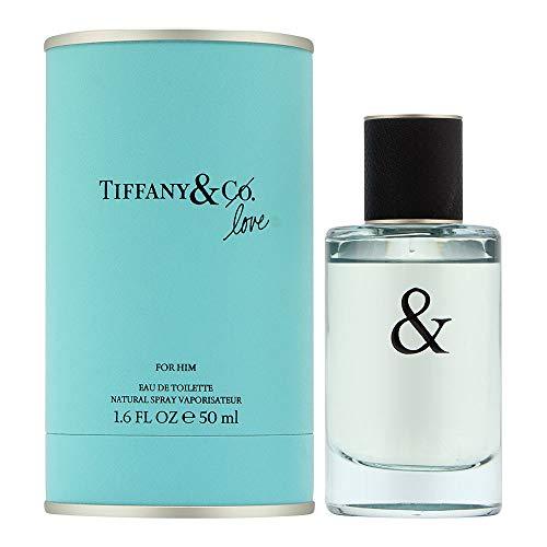 Tiffany Tiffany & Love for Him Eau De Toilette Uomo, 50 ml
