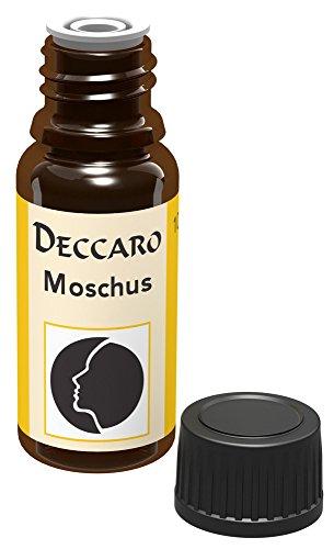 DECCARO Olio aromatico'muschio', 10 ml (olio profumato)