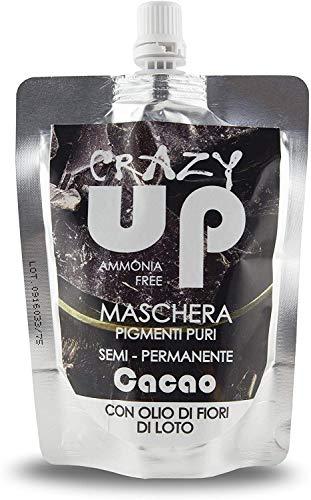 Crazy Up Maschera Colorante Senza Ammoniaca Semipermanente per Capelli - Cacao - 200 ml