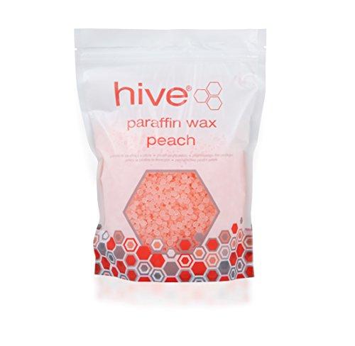 Opzioni Hive - pellet di paraffina per ammorbidire e idratare la pelle, pesca aroma (750 grammi)
