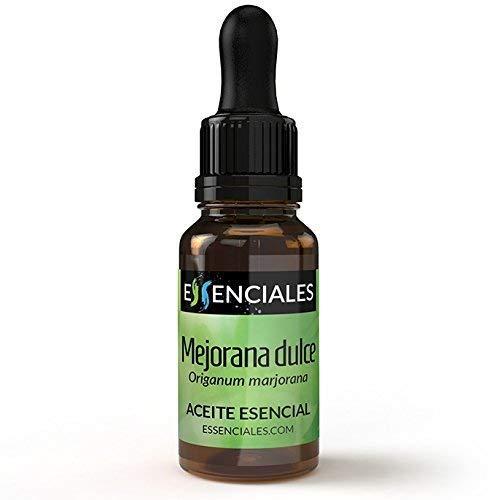 Essenciales – Olio Essenziale di Maggiorana Dolce, 100% Puro e Naturale, 10 ml   Olio Essenziale di Origanum Majorana