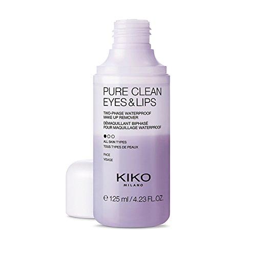 KIKO Milano Pure Clean Eyes & Lips | Struccante Bifasico per Occhi e Labbra