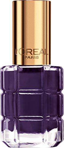 L'Oréal Paris Color Riche Colore ad Olio Smalto per Unghie, Arricchito da Olii Preziosi, 334 Violet de Nuit