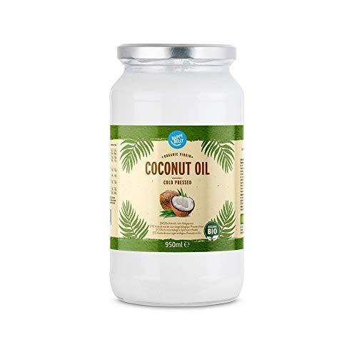 Marchio Amazon - Happy Belly - Olio di cocco biologico, 950ml
