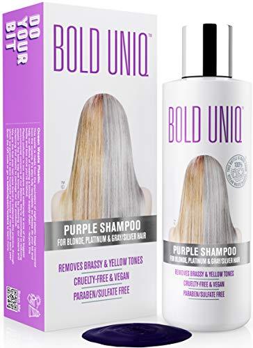 Shampoo Antigiallo Per Capelli Biond - Tonalizzante Capelli - Silver Shampoo Per Toni Violacei - Rivitalizza i Capelli Biondi, Decolorati e Con Meches - Privo di Solfati