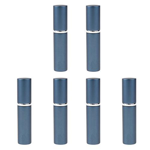 6 Pcs Bottiglie Spray Atomizzatore Riutilizzabile Idratanti Profumo Toner Olio Essenziale - Blu