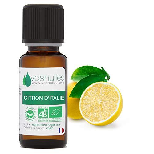 Olio essenziale biologico di olio, Limone