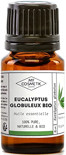 Olio essenziale di Eucalipto Globulus Organico - MyCosmetik - 10 ml