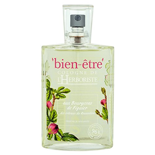 Bien Être, Cologne De L'Herboriste - Acqua di colonia ai boccioli di fico di Coteaux Du Roussillon, 75 ml