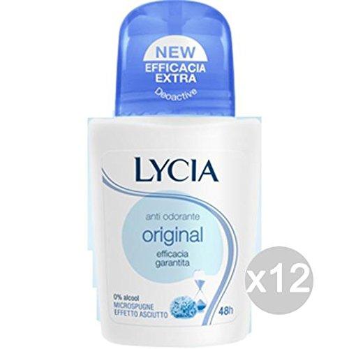 Set 12 LYCIA Deodorante Roll-On Original Neutro 5309 Cura E Igiene Del Corpo