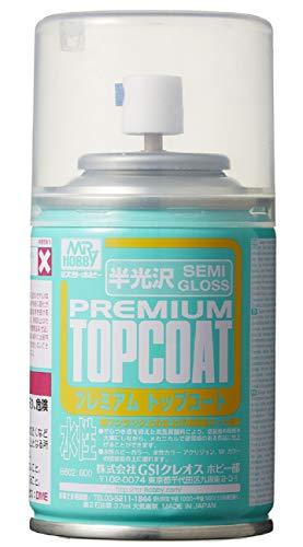 B-602 Mr Premium Top Coat Semi-Gloss Spray | (88ml)