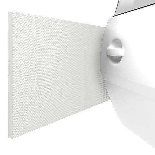 ATHLON TOOLS 2 Protezioni delle pareti del Garage FlexProtect, ignifughe, Lunghe 2 m ciascuna, Protezione Estremamente Spessa per Il Bordo della portiera di autovetture, autoadesiva, Idrorepellente