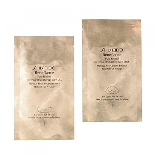 Shiseido Benefiance Pure Retinol Intensive Revitalizing Face Mask 4 X 2 patchs - Maschera Rivitalizzante Viso