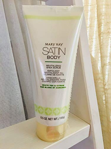 Mary Kay Satin Body White Tea & Citrus Revitalizzante Shea Scrub (6,5 oz.)