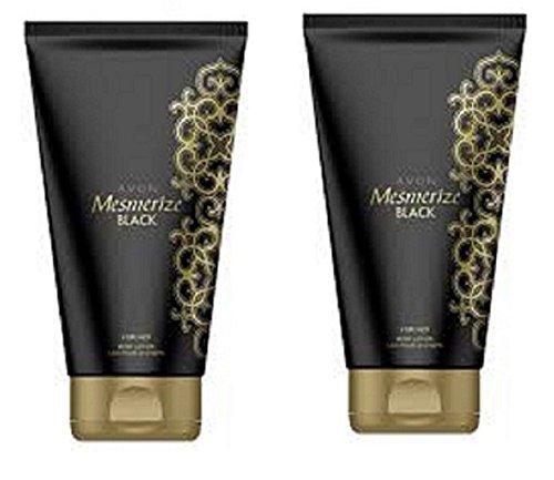 2 x Avon Mesmerize Black for her Body Lozione - 150 ml