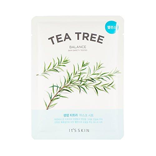 It's Skin The Fresh Mask Sheet Tea Tree - Maschera per il viso coreano, 1 pezzo