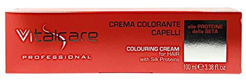 Vitalcare Crema Colorante colorazione professionale tinta in tubo 7/00 Biondo