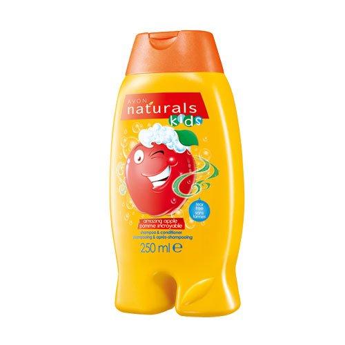Avon Naturals Kids Amazing mela shampoo e balsamo, 250ml