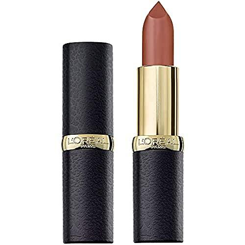 L'Oréal Paris Make Up Rossetto Lunga Durata Color Riche Matte Colore Pieno Finish Matte 636 Mahogany Studs - Confezione da 1