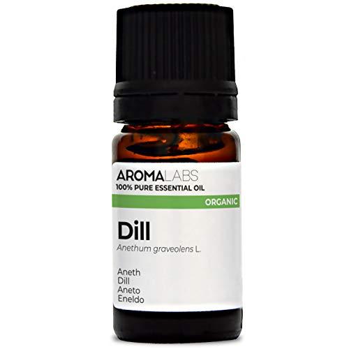 Aroma Labs Aneto Bio - 5Ml - Olio Essenziale Bio E Naturale Al 100% - Qualità Verificata Mediante Cromatografia - Aroma Labs - 5 ml