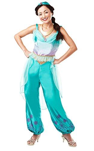Rubie's Costume ufficiale Disney Princess Jasmine Aladdin per adulti, da donna, taglia M