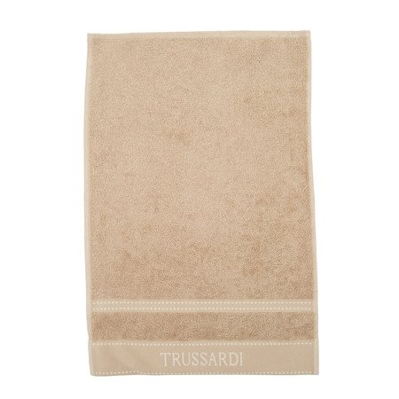 Trussardi Home Linen telo bagno in pura spugna idrofila art. Ribbon cm. 100x150 var. Dove Grey (tortora)