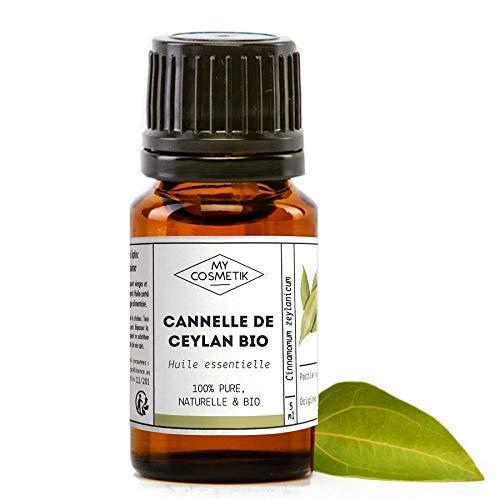 Olio essenziale di cannella di Ceylon organico - MyCosmetik - 10 ml