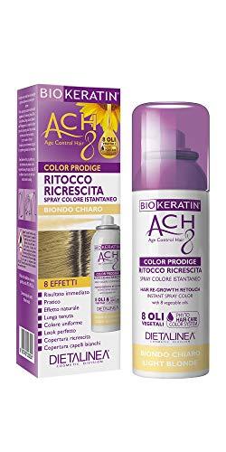 Dietalinea - Ritocco Ricrescita Spray Biondo Chiaro Color Prodige 8 Effetti