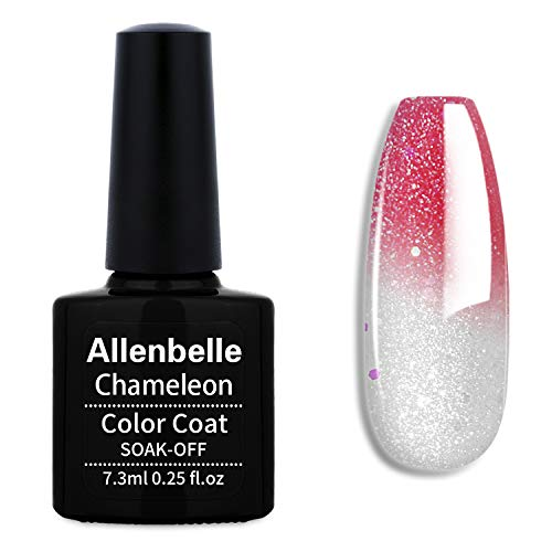 Allenbelle Smalto Semipermanente Camaleonte Nail Polish UV LED Gel Unghie 7.3ml 5756